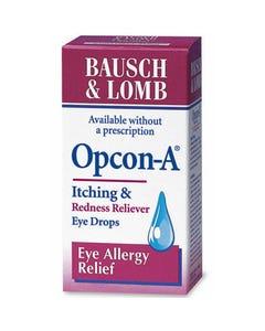 Bausch & Lomb OPCON-A Eye Drops