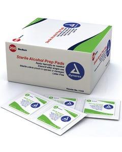 Sterile Alcohol Prep Pads (200)