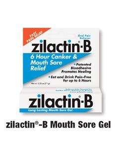 Zilactin -B Mouth Sore Gel