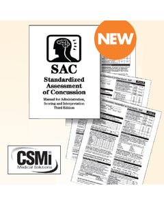 SAC Manual Standardized Assessment of Concussion