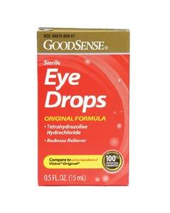 Sterile Eye Drops