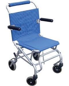 Super Light Folding Transport Chair with Carrying Bag