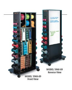 Combination Rack with Whiteboard
