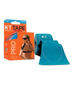 """KT Tape Pro Pre-cut 10"""" Strips - 20 per Roll - Laser Blue"""