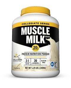 Muscle Milk Collegiate Powders 5.29 Canister - Vanilla Creme