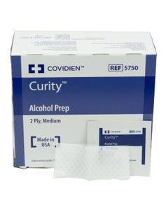 Curity Alcohol Prep Pads