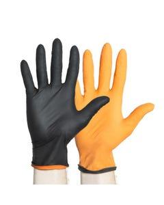 Halyard Black-Fire Powder-Free Nitrile Exam Gloves no packaging