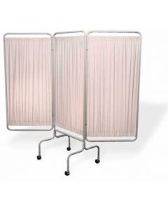 3 Panel Privacy Screen with Caste