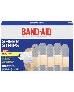 Band-Aid Sheer Strip Bandages
