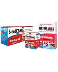 NasalCEASE and BleedCEASE