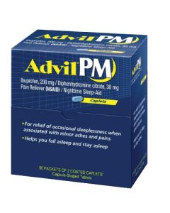 Advil PM Caplets (100)