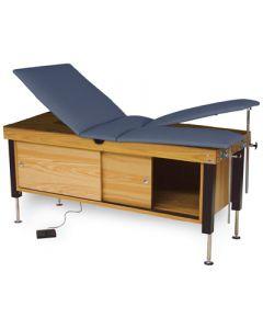 Hausmann Proteam Electric Hi-Lo Split Leg Treatment Table