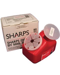Sharps disposal by Mail Systems