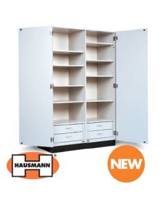 Hausmann Double Door Storage Cabinet