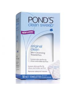 Pond's clean sweep Original Clean Wet Cleansing Towelettes