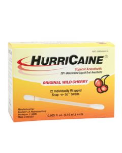 Hurricaine Topical Oral Anesthetic Gel