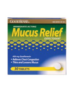 Mucus Relief Expectorant/Cough Suppressant