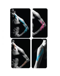 SpiderTech PowerStrips X,Y, & I - Shaped Pre-Cut Kinesiology