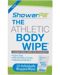 ShowerPill Body Wipes 25 Pack