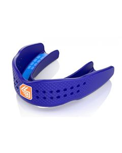 Shock Doctor Superfit All Sport Strapless Mouthguard Royal Blue