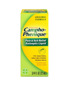 Campho-Phenique Pain and Itch Relieving Antiseptic Liquid - .75 oz