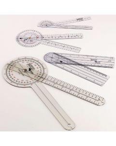 Economy Jamar Transparent Plastic Goniometers