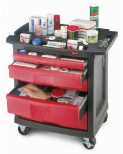 Rubbermaid 5-Drawer Utility Cart
