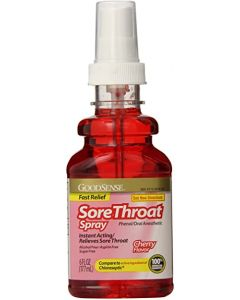 Sore Throat Spray Oral Anesthetic