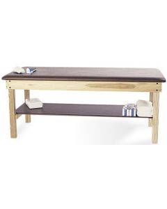Hausmann S & W Treatment Table with Shelf
