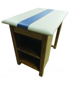 Bailey End Shelved Taping Table #12