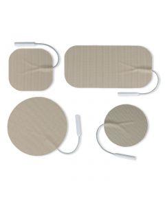 Uni-Patch R Series Tan Tricot Electrodes