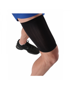 Black ESS thigh sleeve.