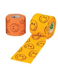 Andover Co-Flex Smiley Face Bandages