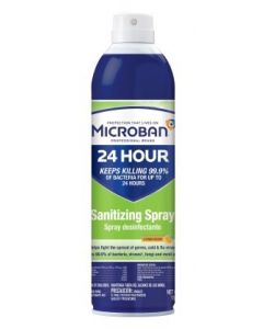 Microban Sanitizing Spray Citrus Scent