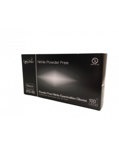 Omni Nitrile Black Powder Free Gloves