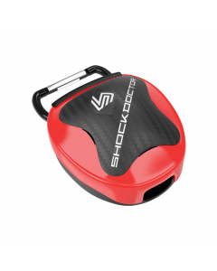 Shock Doctor Mouthguard Case - Red