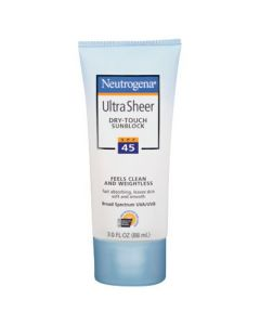 Neutrogena UltraSheer Dry-Touch Sunblock