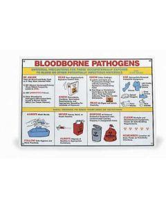 Universal Bloodborne Pathogens Poster