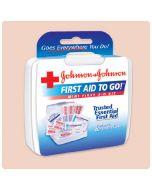 Johnson & Johnson First Aid To Go- Mini First Aid Kit