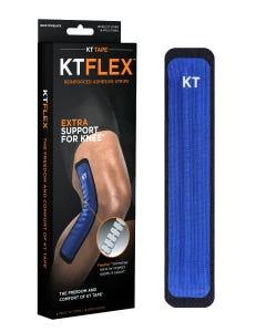 KT Flex Tape - Black/Blue Knee - 4 Applications Per Pack