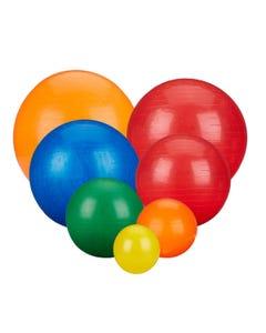 Rolyan Energizing Exercise Balls Group