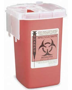 Sharps Disposable Phlebotomy Container
