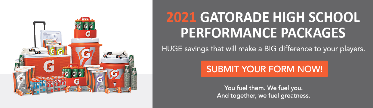 Gatorade High School Performance Packages 2021