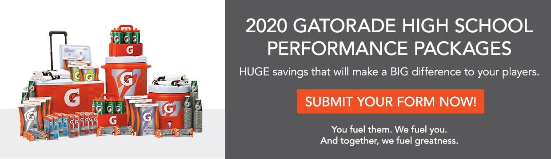 Gatorade Sidelines 2020