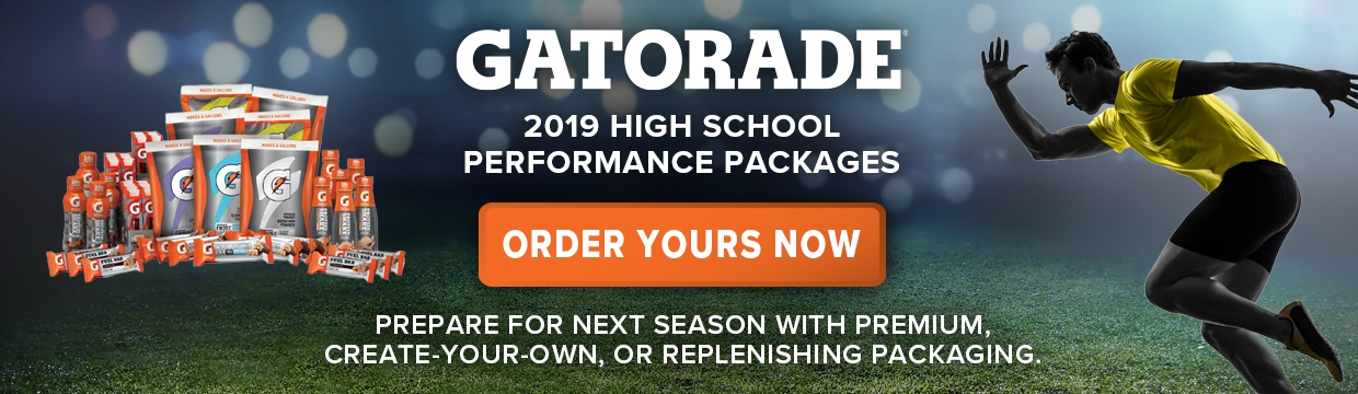 2019 Gatorade High School Performance Packages