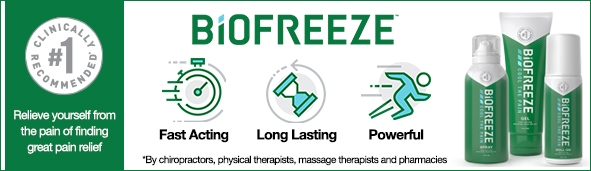Biofreeze Banner