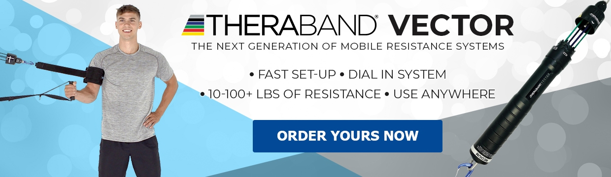 Theraband Vector Rotator Banner
