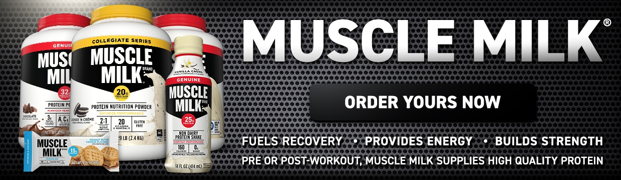 Muscle Milk Banner